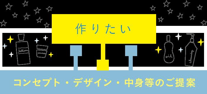 コンセプト・デザイン・中身等のご提案